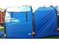 Sendairo 5 air -tech 5 birth tent used twice immaculate condition