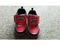 Toddler size 7 car trainers