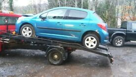 Breaking peugeot 207s all parts available