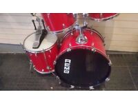 4 Piece Remo Drum Kit For Sale & Collection Only.