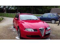 ALFA ROMEO GT DIESEL 6SPD SWAP