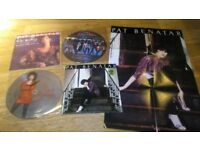 4 x pat benatar - LP with poster / picture discs / 12 inch