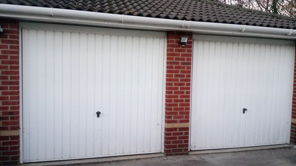 12000 For 2 Garage Doors Powder Coated Henderson Up And Over