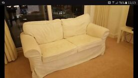 White Two Seater Sofa Free