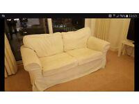 White Two Seater Sofa Free
