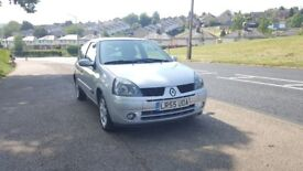 RENAULT CLIO 1.2 16V 3DR MANUAL,ONLY 33078 MILES,1 OWNER,VERY GOOD DRIVE