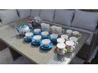 27 pcs mix mug set