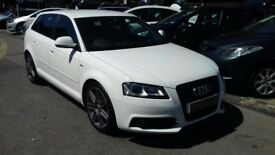 2010/59 AUDI A3 2.0 TDI S-LINE 5 DOOR, STUNNING LOOKING CAR IN THE BEST COLOUR COMBINATION