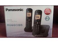 Twin Panasonic land line phones