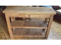 Kitchen Unit - Freestanding, Narrow, Handmade, Butchers Block Style