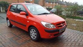 Hyundai getz. Only 1 owner from new ,Full 1 year mot,FSH,drives like new,2remote keys,Air con.