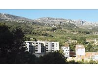 Idyllic 2 bedroom Spanish apartment near Benidorm fully furnished for swap