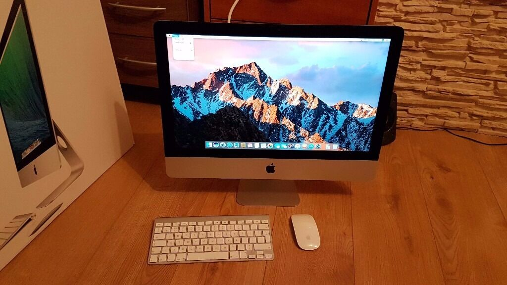 """Apple iMac 21.5 inch 2014 1.4GHz Core i5 8Gb 500Gb BOXEDin Sheffield, South YorkshireGumtree - Apple iMac 21.5 inch 2014 1.4GHz Core i5 8Gb 500Gb BOXED iMac 21.5"""" Intel Core i5 1.4GHz 8Gb DDR3 1600MHz (2x4Gb) 500Gb SATA Hard Drive Intel HD Graphics 5000 1536Mb Excellent condition Can be seen/tested working"""