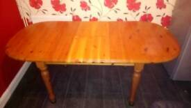 Table for sale only table no chairs