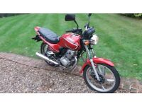 lifan motobike 125 red dont want to start
