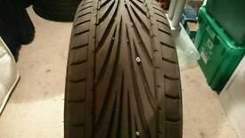 Toyo proxy 195/55/16 tyre 7mm