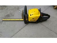 Mcculloch Virginia petrol hedge trimmer MH542