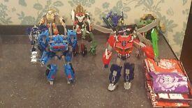 Transformers prime beast hunters figure bundle autobots and decepticons