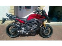 Yamaha MT09 Tracer ABS, 900 Tracer, Shad Panniers