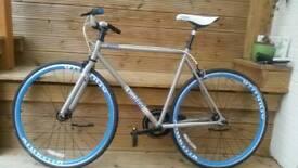 Voodoo fixie single speed bicycle