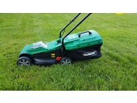 Qualcast Cordless 24v Lithium-Ion Battery Lawnmower - As New