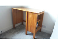 Desk. Solid pine childrens desk medium size