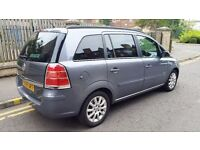 2006 VAUXHALL ZAFIRA CLUB 7 SEATER EXCELLENT RUNNER