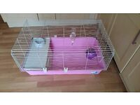 cage for guinea pigs or rabbit