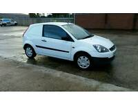 Ford fiesta van immaculate condition