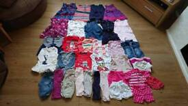 Girls baby clothes 6-9 months. 34 items