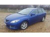 Mazda 6 Estate 2009 Diesel in Blue (new timing chain) Full service history tow bar fitted MOT Oct 18