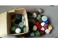 Assorted yarns