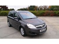 Low mileage FSH Zafira Automatic 1.9 CDTI Elite with 8mths MOT left