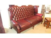 Queen Anne chesterfield suite