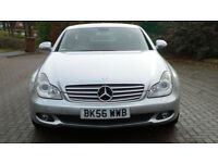 MERCEDES-BENZ CLS CLASS 3.0 CLS320 CDI 4d AUTO 222 BHP FULL LEATHER TRIM + PARKING SENSORS