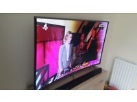"""TV 55"""" 4K Ultra-HD Smart Curved TV with Freeview HD"""