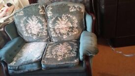 Fabric 2 seater sofa great quality free collection