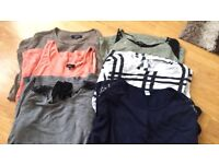 Ladies Maternity 6 Top Bundle Size 12