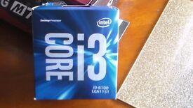 I3 6100 BOXED PLUS LOW PROFILE HEATSINK