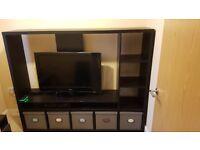 Ikea TV Unit Black