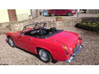 Austin healey Sprite mk4 1968 similar to MG Midget