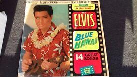 Elvis Presley Soundtrack Blue Hawaii - rare Silver spot album
