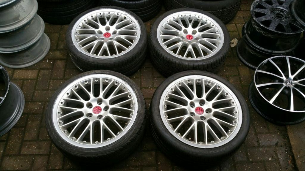 19 Quot Audi Bbs Speedline 8 5 Alloy Wheels A6 A4 Vw Golf Mk5