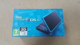 NINTENDO 2DS XL BRAND NEW WITH WARRANTY & RECEIPT