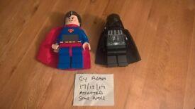 lego alarm clock & torch