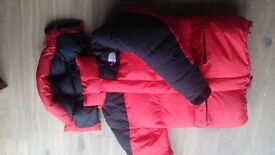 North Face expedition duvet jacket goretex outer primaloft down - ultra warm!