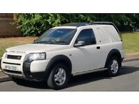 FREELANDER 2.0 DIESEL TD4 54 REG WHITE VERY CLEAN DRIVES LIKE NEW VERY SMOOTH AND BARGAIN MAY P/X