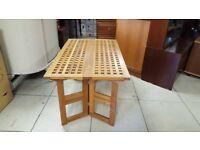 Folding Lattice Coffee Table