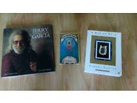 3 x grateful dead / jerry garcia books