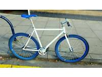 No Logo negotiatable racing Single Speed Fixie bike *not carrera raleigh apollo giant*